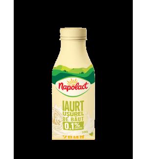 Iaurt usurel de baut 0.1% Napolact 330g