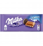Ciocolata Milka cu oreo 100g