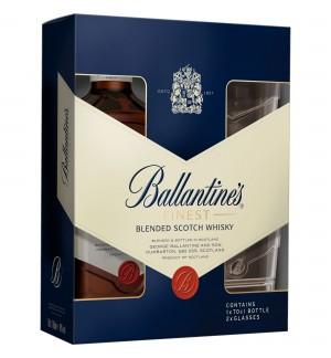 Ballantine's + 2 Pahare 0.7L