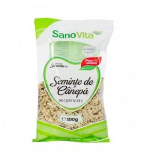 Semințe de Cânepă SanoVita 100g